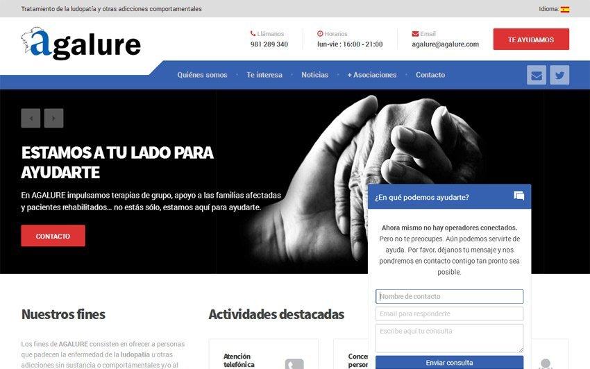 Chat on-line, novo servizo de AGALURE